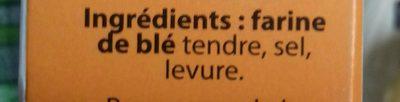 Chapelure - Ingrediënten
