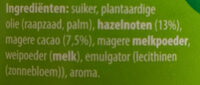 Hazelnootpasta - Ingrediënten - nl