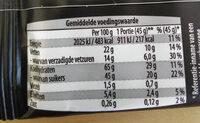 Choco Wafel - Nutrition facts - en