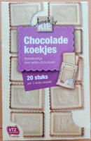 Chocolade koekjes boterkoekje met witte chocolade - Product - nl