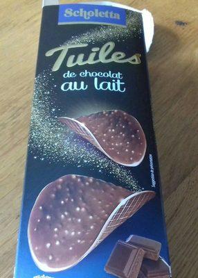 Tuiles de chocolat noir - Product