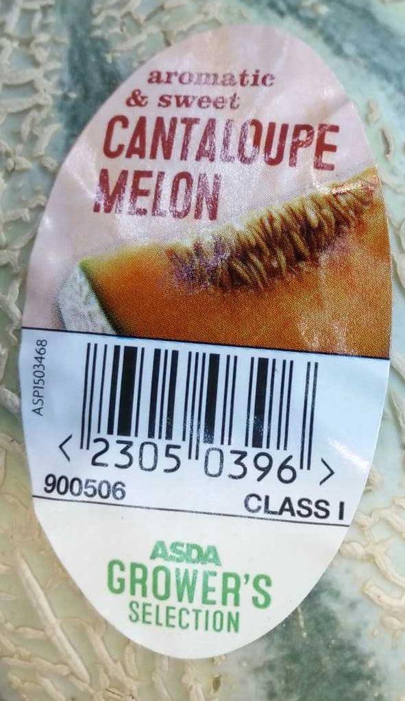 Melon Cantaloup - Ingrédients
