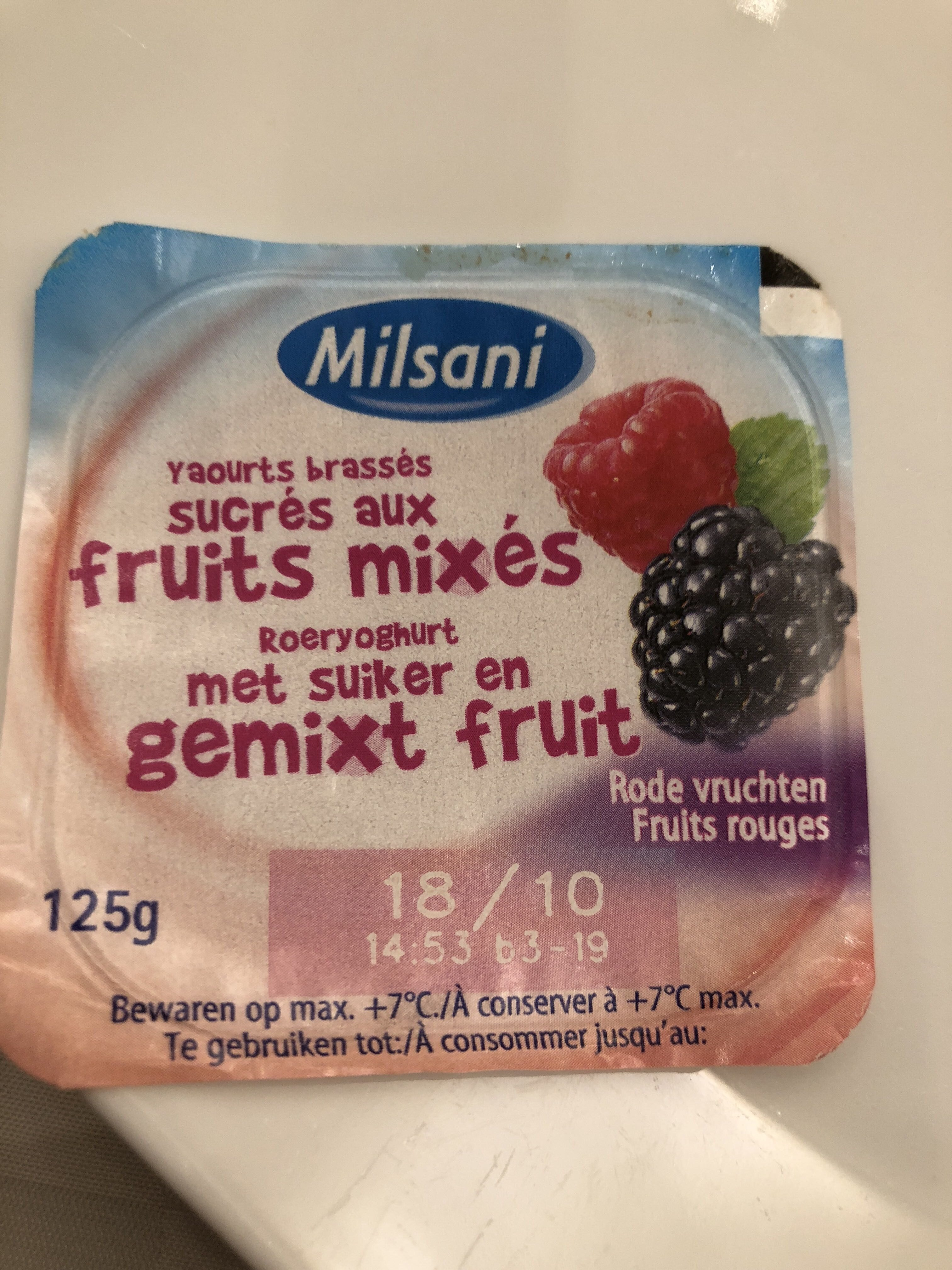 Milsani jogging morango - Produkt - pl
