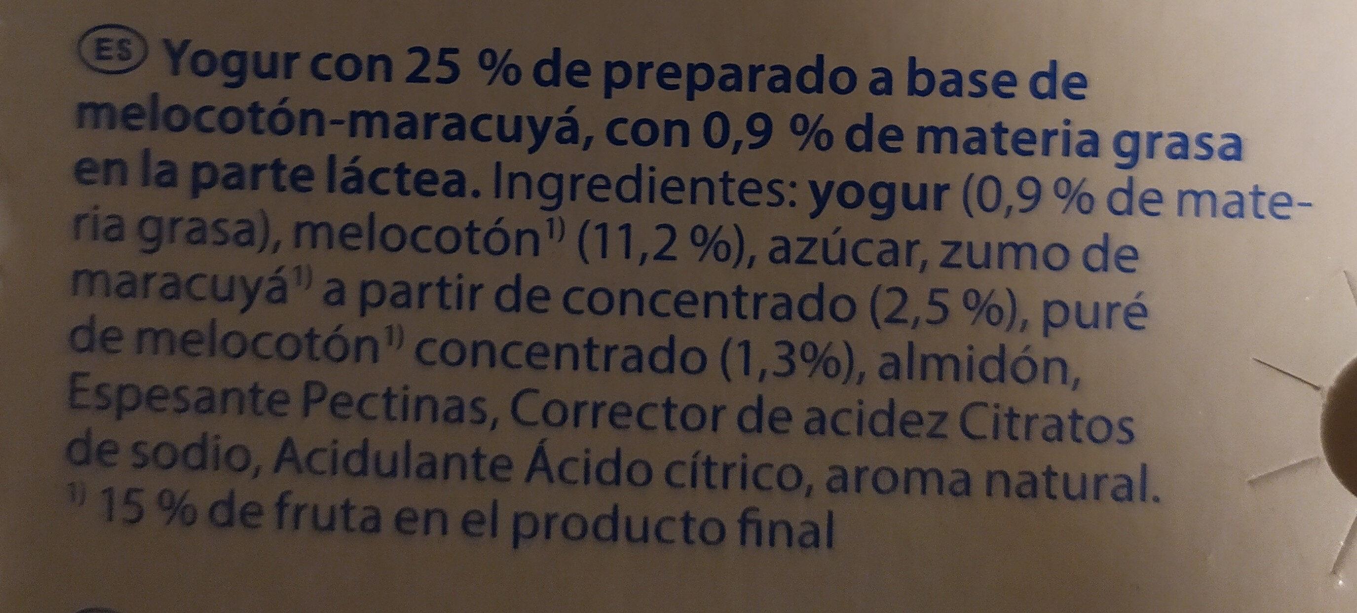 Milsani jogging morango - Ingrediënten - es