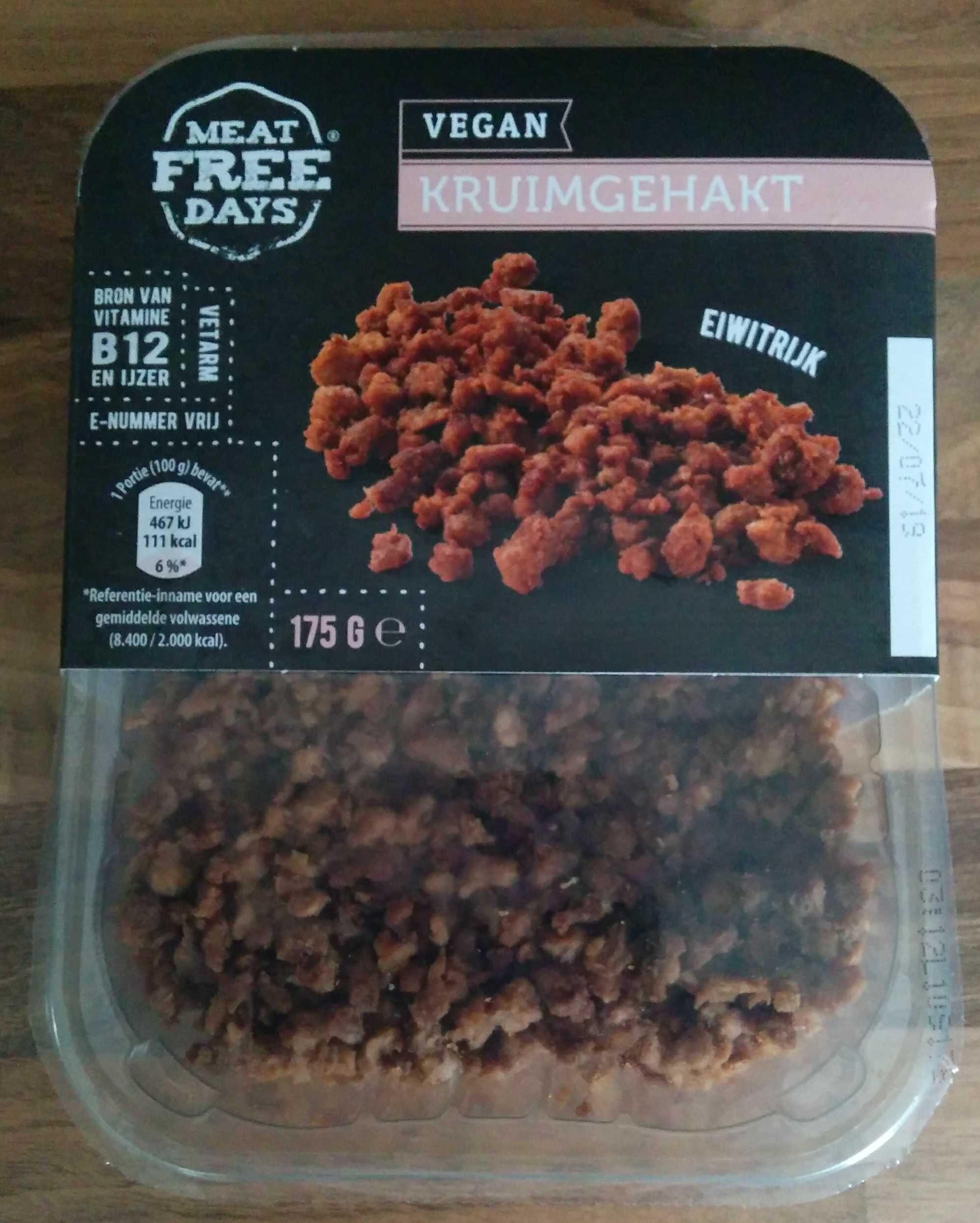 vegan kruimgehakt - Product - en