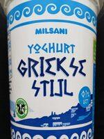 Yaourt à la Grecque Milsani - Product - nl