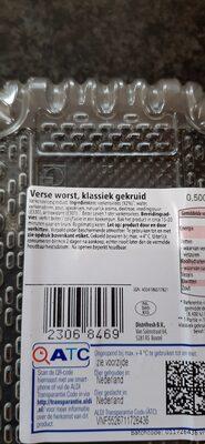 verse worst gekruid - Ingredients - en