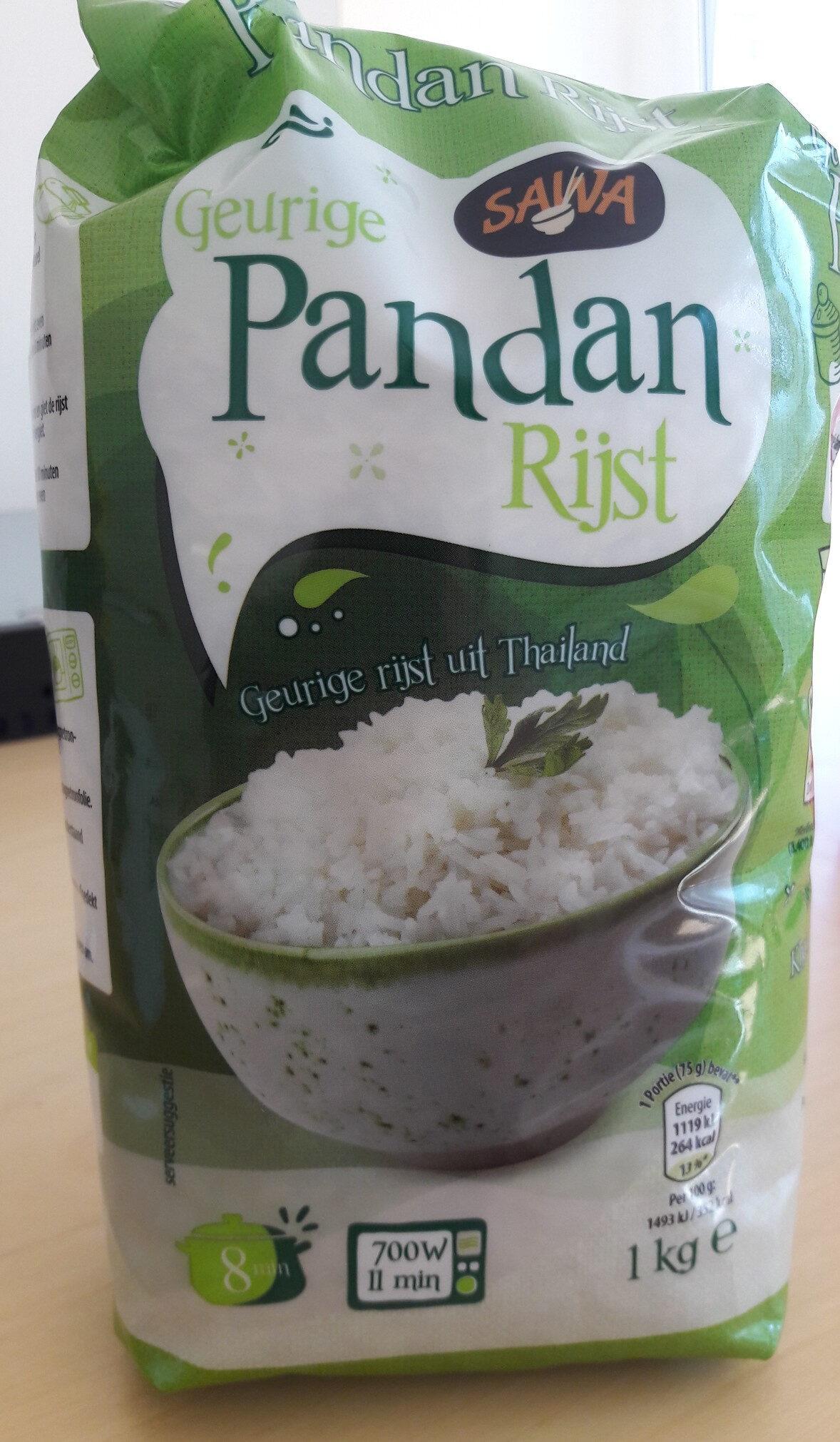 Geurige Pandan Rijst - Product - nl