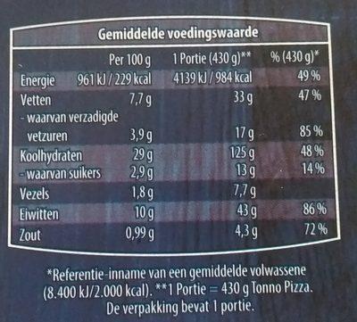 Verse Pizza Tonno - 3