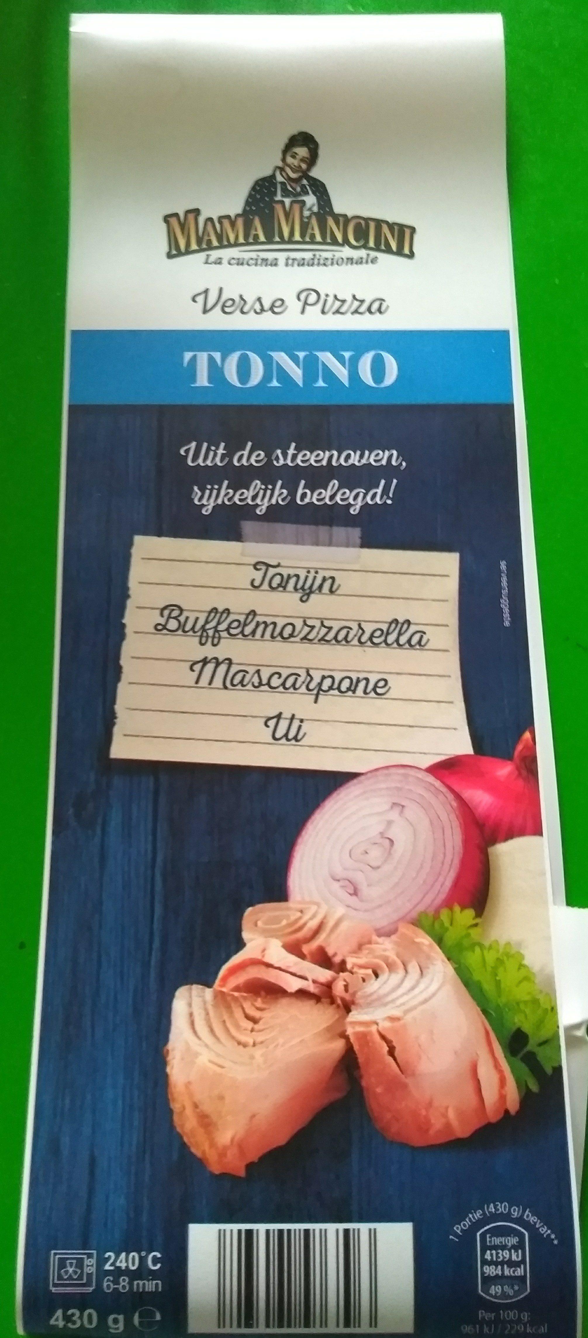 Verse Pizza Tonno - Product - nl