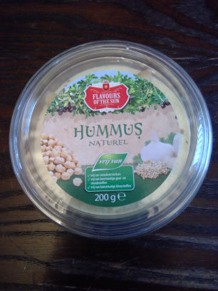 Hummus naturel - Product - en