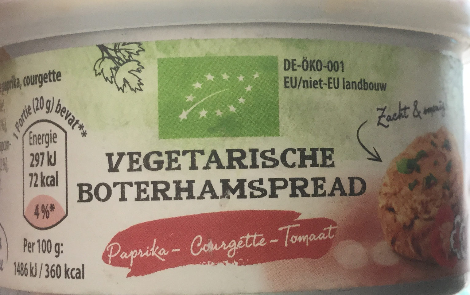 Vegetarische boterhamspread - Product - nl