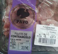 Filetes de contramuslos pavo - Product