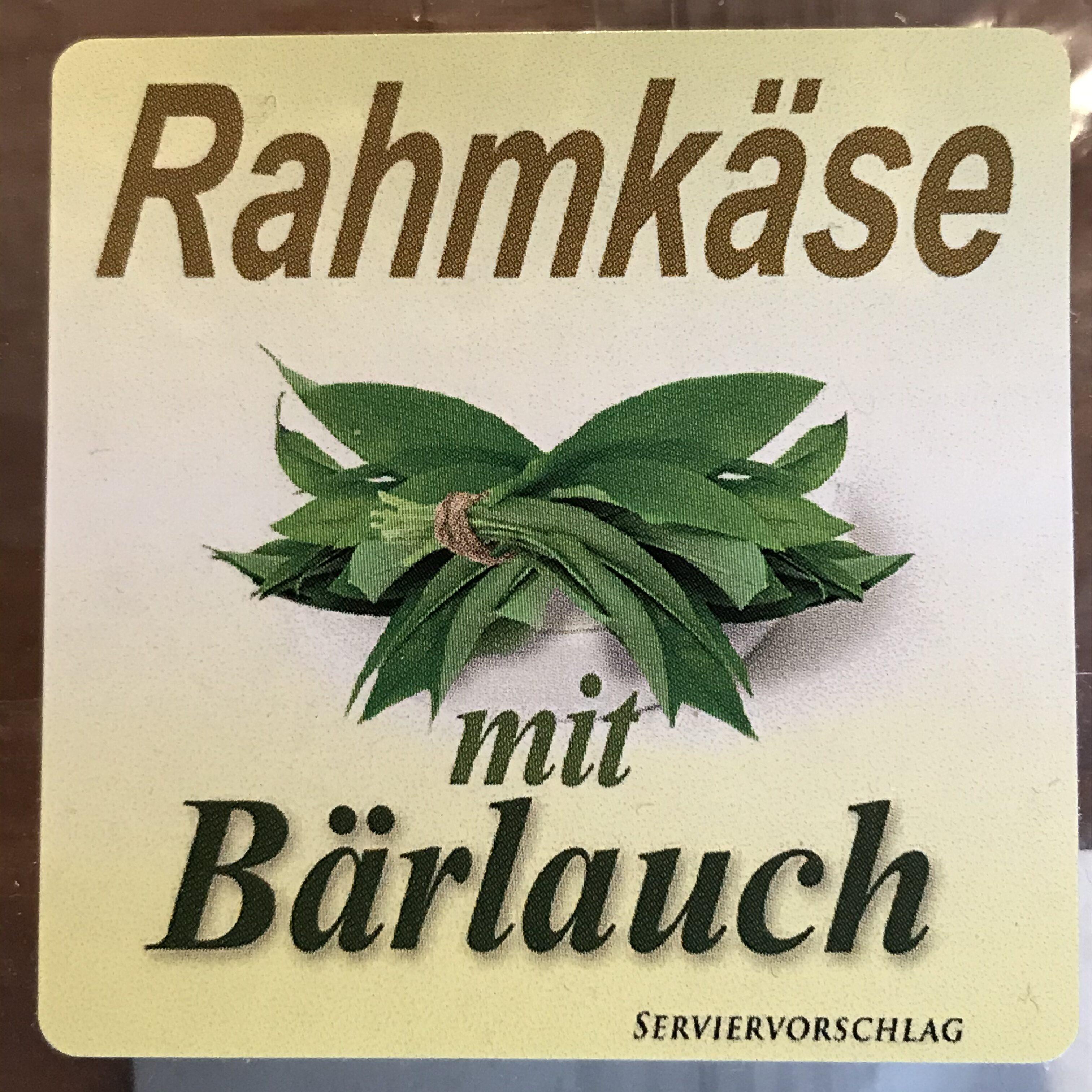 Rahmkäse mit Bärlauch - Produit