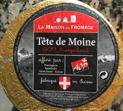 Tête de moine - Ingredients - fr