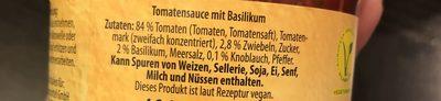 Nudelsoße Alla Bolognese - Ingredients