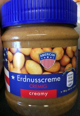 Erdnusscreme Cremig - Produkt