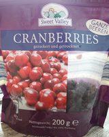 Cranberries - Produkt
