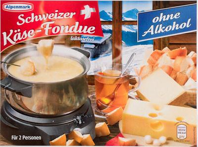 Schweizer Käse-Fondue ohne Alkohol - Produkt