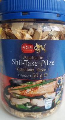 Asiatische Shii Take Pilze getrocknet - Product