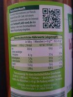 Böklunder Wiener Würstchen - Informations nutritionnelles - fr