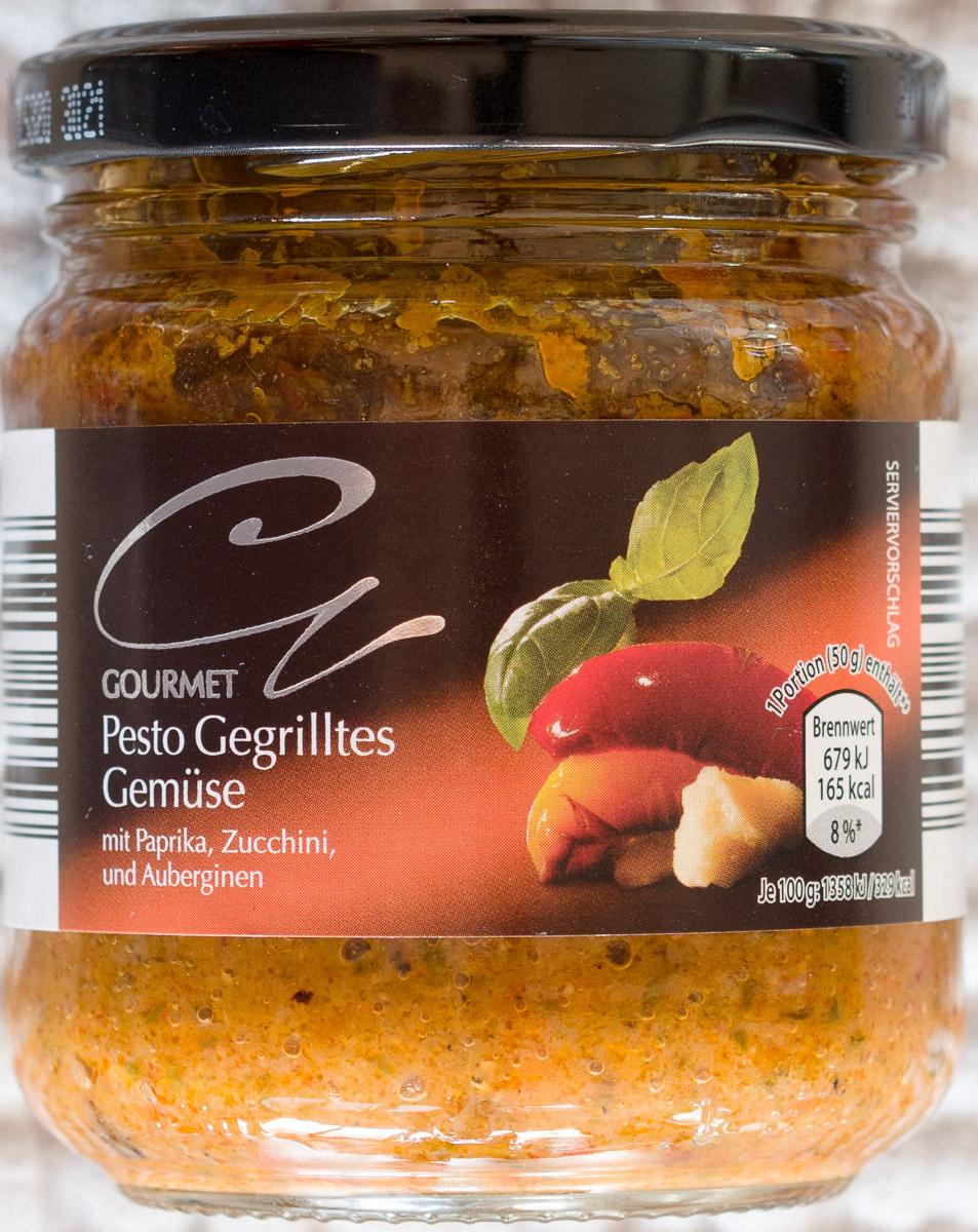 Pesto Gegrilltes Gemüse - Produit - de