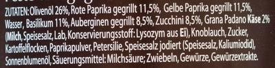 Pesto Gegrilltes Gemüse - Ingrédients - de
