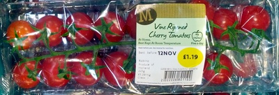 Vine Ripened Cherry Tomatoes - Product