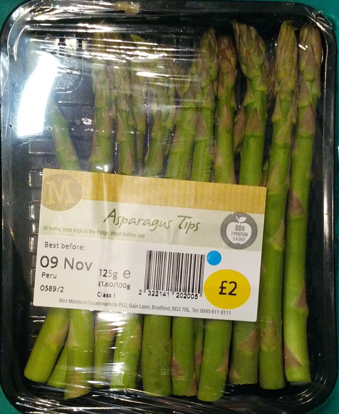 Asparagus Tips - Product - en