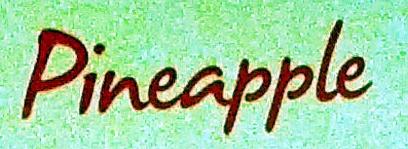 Pineapple - Ingredients - en