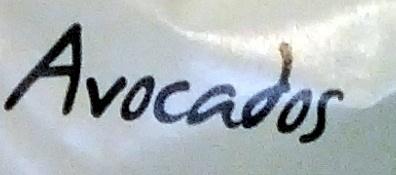 Avocados - Ingredients