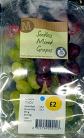 Seedless Mixed Grapes - Product - en