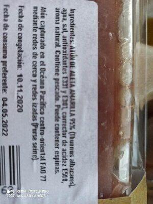 Atún - Ingredients - es