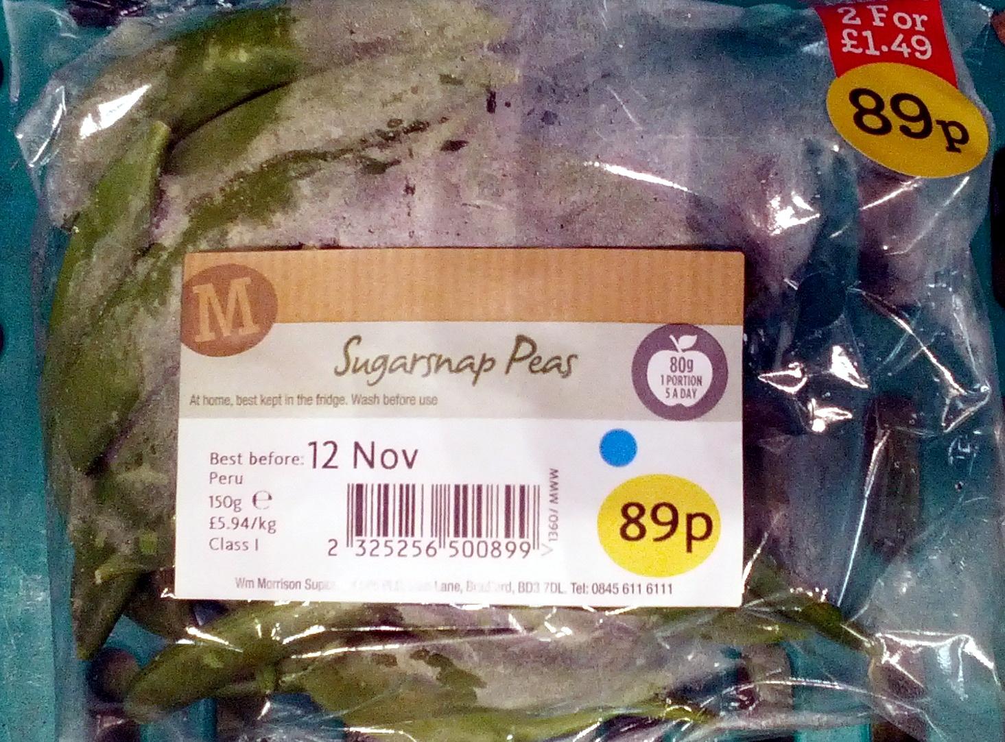 Sugarsnap Peas - Product - en