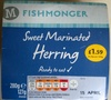 Sweet Marinated Herring - Product