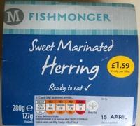 Sweet Marinated Herring - Product