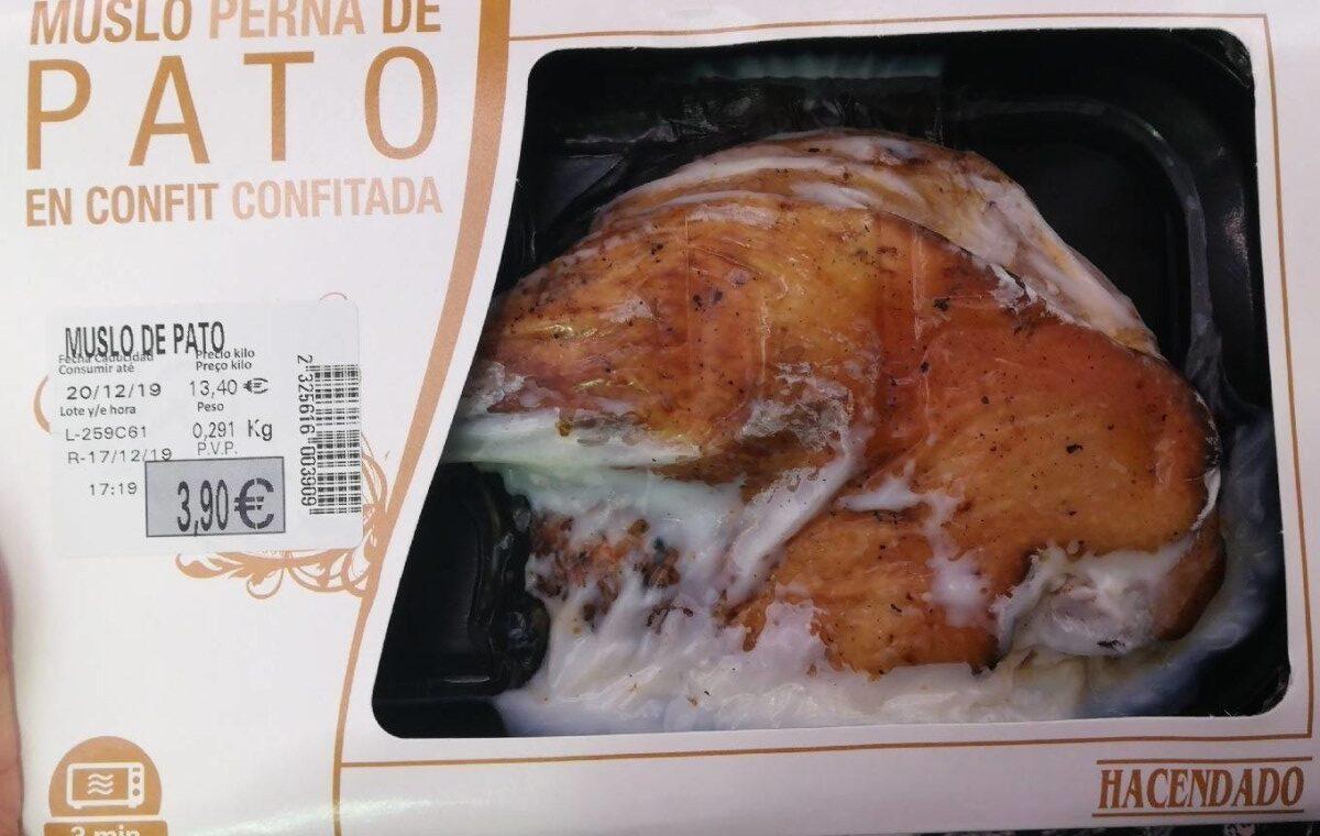 Muslo de pato confitado - Produit
