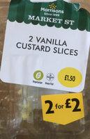 Vanilla custard slices - Product - en