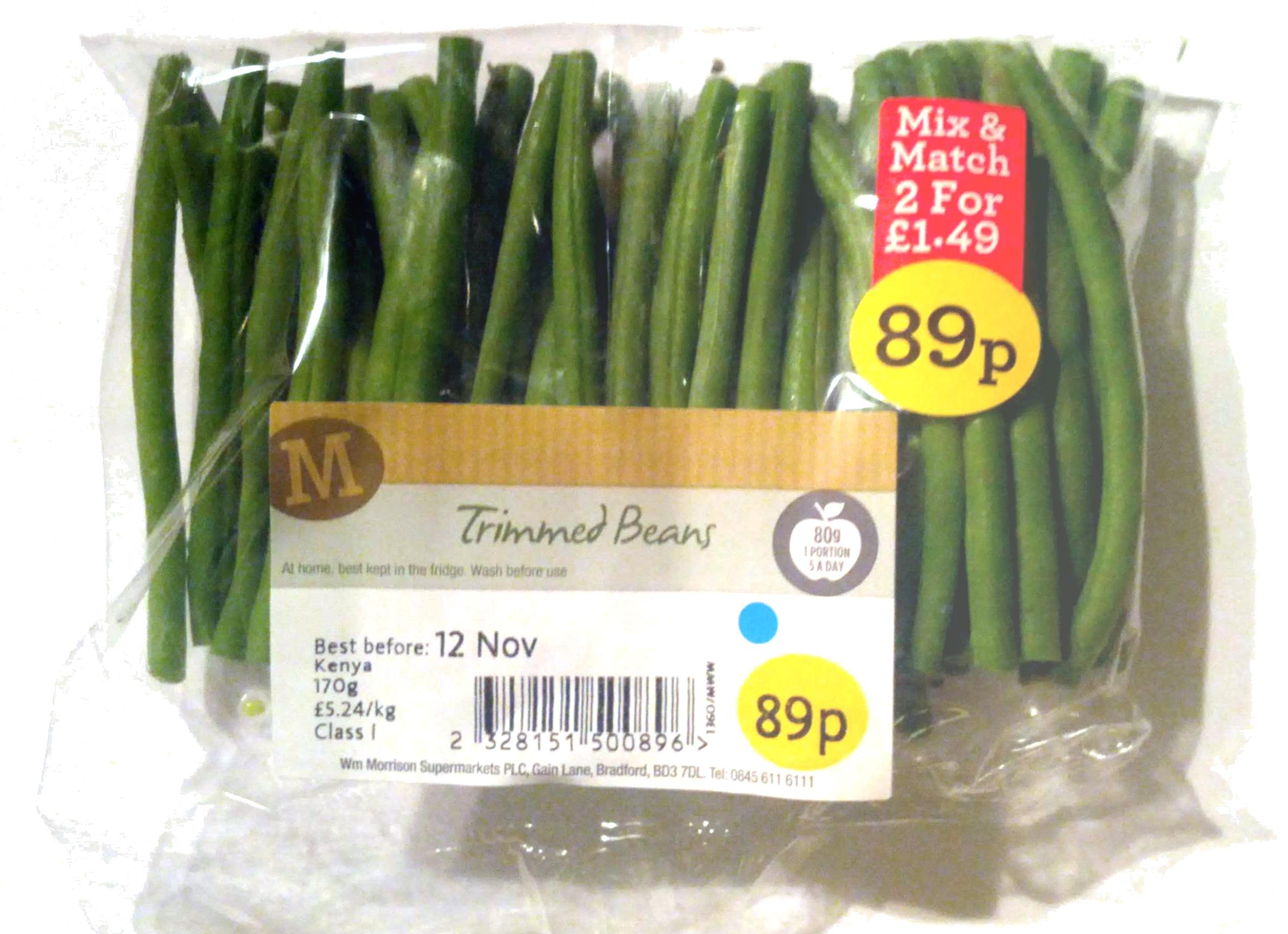 Trimmed Beans - Product - en
