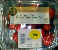 Baby Plum tomatoes - Product