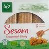 Sesam Knusperriegel & Honig - Produkt