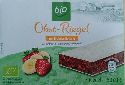 Obst-Riegel mit Erdbeer-Banane - Product - de