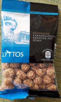 Cacahuètes caramélisées au sésame - Product - fr