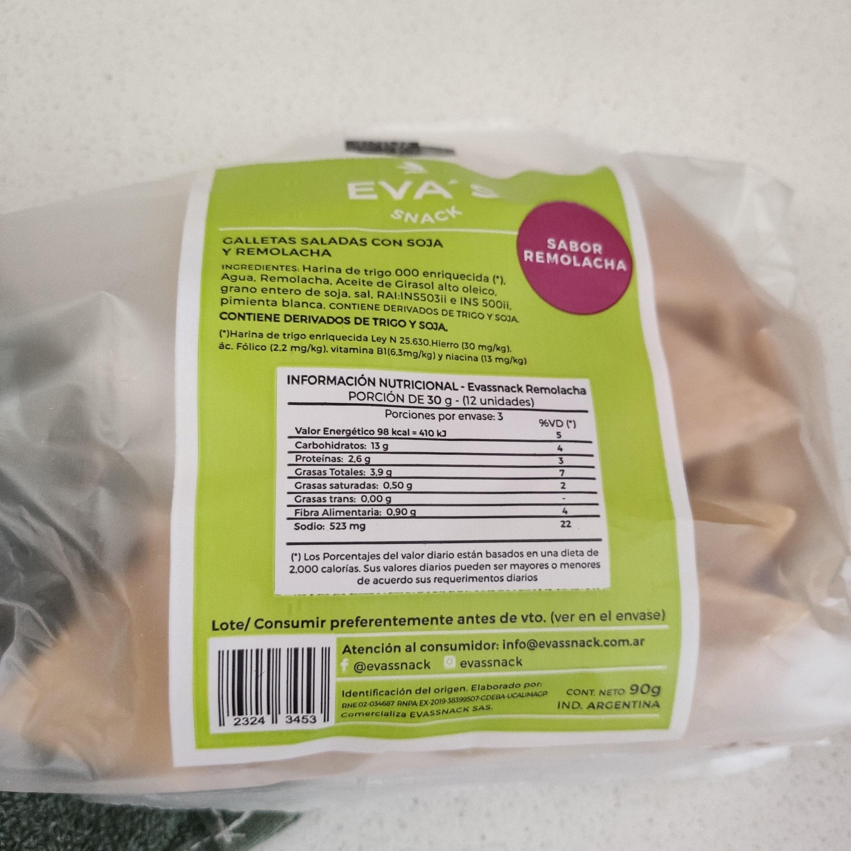 Galletas saladas con soja y remolacha - Product - es