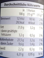 Rote Curry Paste - Nutrition facts - de