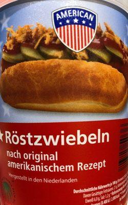 Röstzwiebeln - Produit - fr