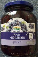 Wald-Heidelbeeren - Produkt