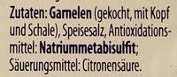 Crevettes roses - Ingredients - de