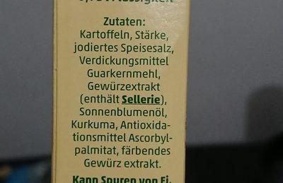 Penny Kartoffelknödel Halb & Halb - Ingrédients - de