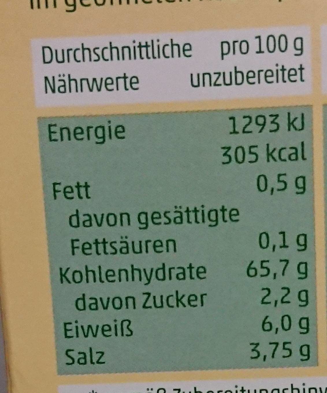 Penny Kartoffelknödel Halb & Halb - Informations nutritionnelles - de
